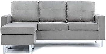 Divano Roma Furniture Modern Sectional Sofa