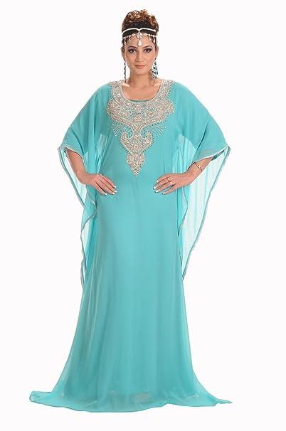 MaximCreation - Vestido de Novia - Mujer Azul Azul Celeste X-Small