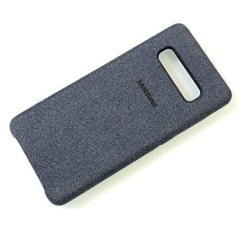 - BXKM Galaxy S10 Plus Case, Cloth Fabric Canvas Cover Protective Case for Samsung Galaxy S10 Plus (Dark Blue)