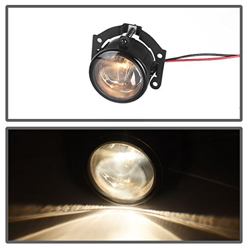 AUTOSAVER88 Fog Lights For Mitsubishi Outlander (Pre-facelift) 2007-2015 Outlander Sport/RVR (Pre-facelift) 2011-2015 ASX 2014 (Real Glass Smoke Lens with Bulbs & Wiring Harness) by AUTOSAVER88 (Image #3)