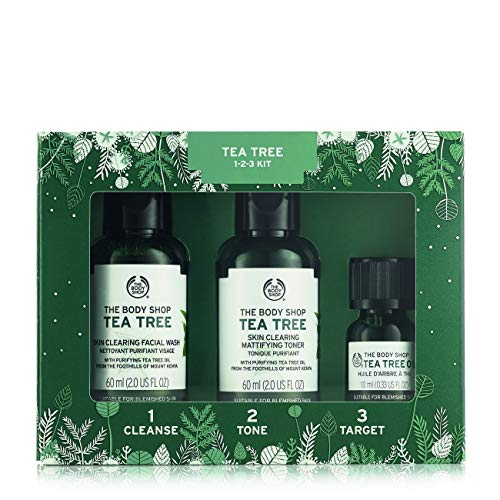 The Body Shop Tea Tree Skin Clearing Essentials Gift Set, 3p