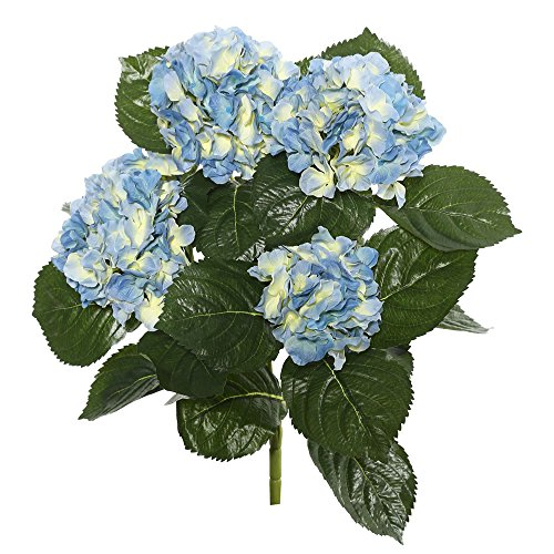 - Vickerman FL171513 Floral Hydrangea Bush