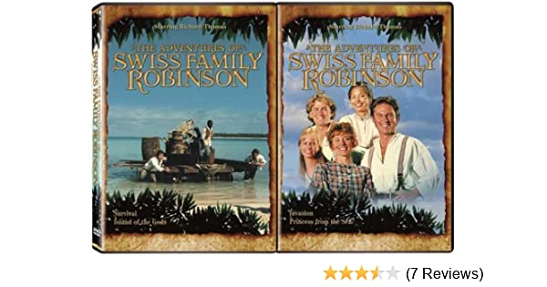 Amazon Com The Adventures Of Swiss Family Robinson 2 Pack Movies