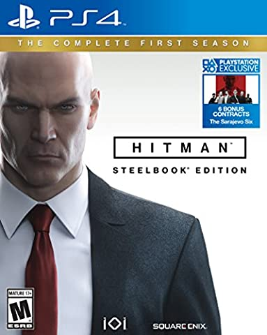 Hitman: The Complete First Season - PlayStation 4 (Universal Studios Steelbook)