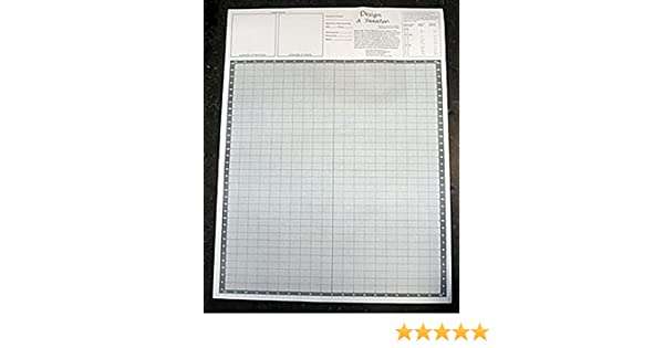 Amazon Com Design A Sweater Knitters Grid Knitting Graph Paper
