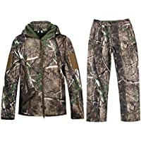 Hunting Jackets Waterproof Hunting Camouflage Hoodie for...