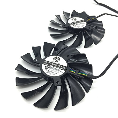 2 Pcs/lot 95mm DC 12V 0.4A Video Card Dual Fan for for sale  Delivered anywhere in Canada
