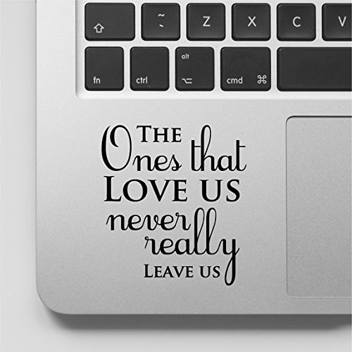 Harry Potter Quote Macbook Decal The ones that love us never
