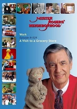 Amazon com: Mister Rogers' Neighborhood: Work (#1529) A