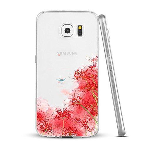 Funda Galaxy S8,Vanki® Carcasa Cubierta TPU Silicona Goma Suave Case Protection y Premium Clarity Cover Ultra Fino Anti-Arañazos para Samsung Galaxy S8-diseño original 8