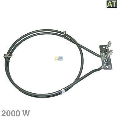 backofen Heißluft Heizelement Ringheizung 2000 W für Electrolux 357042405, Zanker, Privileg 01006480, 7164r481