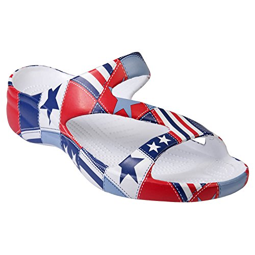 DAWGS Women's Arch Support Loudmouth Z, Betsy Ross, 7