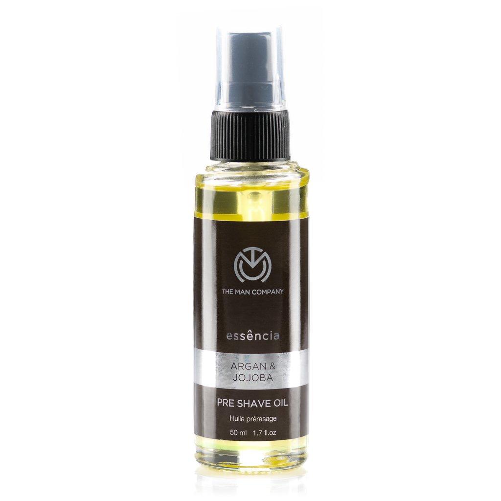 The Man Company Argan & jojoba pre shave oil, 1.7 Fl. Oz. Helios Lifestyle Pvt. Ltd.