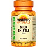 Sundown Naturals Non-GMO Milk Thistle X-TRA