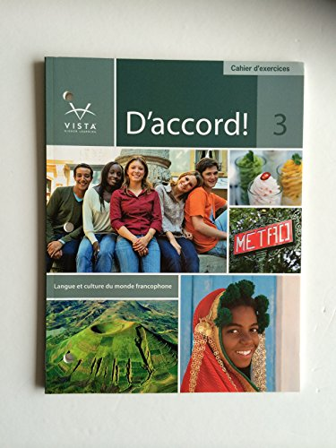 D'Accord 3 Cahier d'Exercices