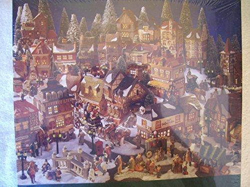 Springbok 1000 A Dickens' Village Christmas Puzzle