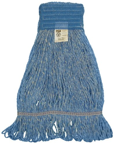 Zephyr 28313 Blendup Blue 4-Ply Yarn Natural and Synthetic Fiber Blended Large Loop Mop Head (Pack of 12) by Zephyr