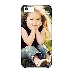 Top Quality Case Cover For Iphone 5c Case With Nice Sweet Lady Appearance