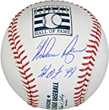 Nolan Ryan Texas Rangers Autographed Hall of Fame Logo Baseball with HOF 99 Inscription - Fanatics Authentic Certified