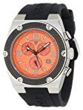 Swiss Legend Men's 30025-06-BB Throttle Chronograph Orange Dial Watch, Watch Central