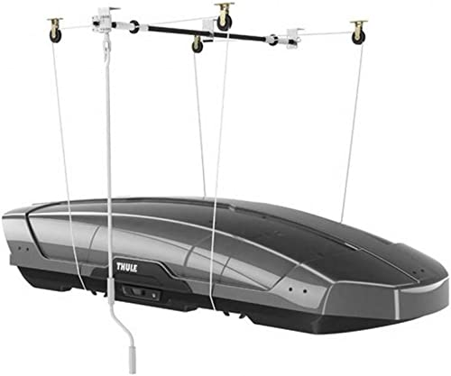 Ceiling Hoist (Hanging System) for Kayak/Canoe/Boat/SUP/Surfboard Storage [Thule] Picture