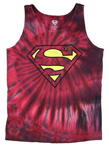 Superman+tank+tops Products : DC Comics Superman Tie Dye Graphic Tank Top