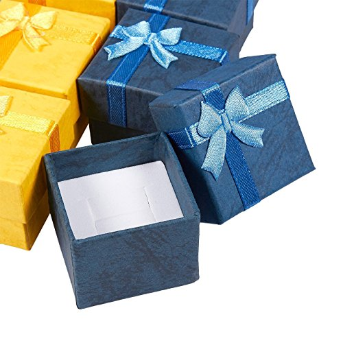 24-Piece Gift Set - Box for Anniversaries, Birthdays, Colors 1.6 1.6 x 1.2 Inches