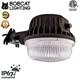 Bobcat 80 Watt Dusk to Dawn Barn Light - LED Outdoor Yard Light with Photocell - 5000K Security Area Light, 9500 Lumens, UL Listed, DLC, 700W Incandescent or 200W HID Equivalent, Replaceable Photocell