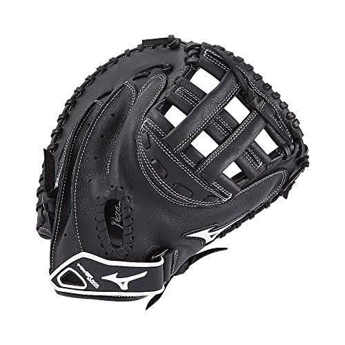 - Mizuno Prospect Gxs102 Fastpitch Softball Catchers Mitts, Size 32.5, Black