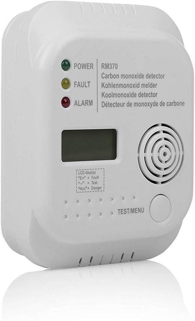 Détecteur de Monoxyde de Carbone Smartwares - Capteur 7 ans - Pile 1 an Incluse