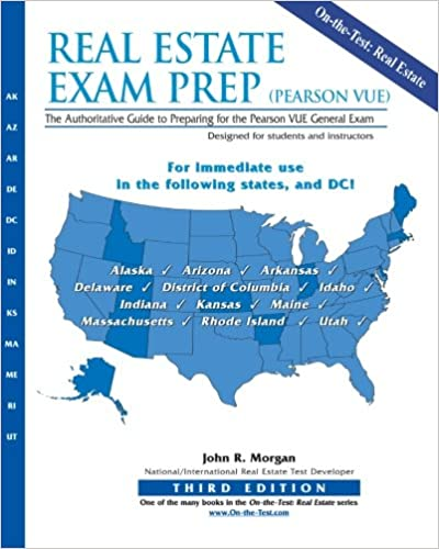 Real Estate Exam Prep Pearson VUE 3rd Edition