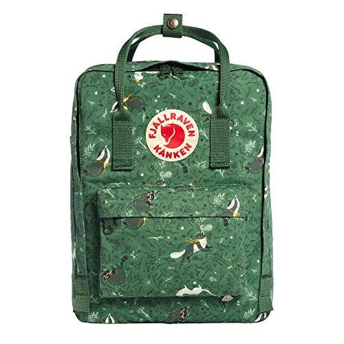 "Fjallraven - Kanken Art Laptop 13"" Special Edition Backpack for Everyday, Green Fable"