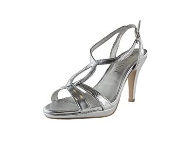 94ce04267b Image Unavailable. Image not available for. Color: Amiana Women's Strappy  High Heel ...