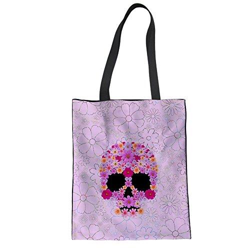 Size Showudesigns Women For One 4 Skull Cc1948z22 Multicolored Bag Tote vxIOqYrI