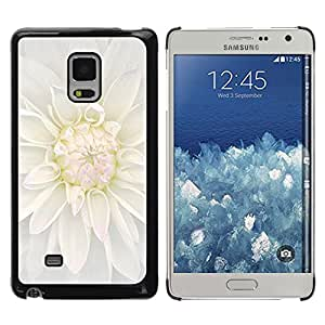Exotic-Star ( White Blossom Flower ) Fundas Cover Cubre Hard Case Cover para Samsung Galaxy Mega 5.8 / i9150 / i9152