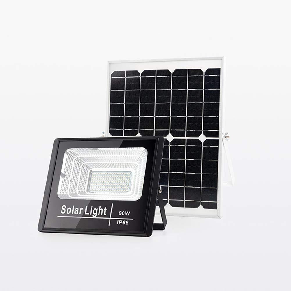 日本最級 屋外の太陽動力を与えられた洪水ライト、LED誘導の太陽洪水ライトIP66は庭、果樹園、プール、道 - 長い電池寿命 - 60Wのための安全ライトを防水します   B07QMVS6JC, AKD通販Priceless 0700f3dc