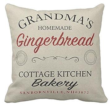 Personalizada la abuela de jengibre manta funda de almohada ...