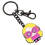 Official Harry Potter Chibi Luna Lovegood Cutie Keyring with Trigger Clip