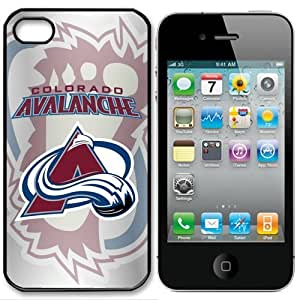 NHL Colorado Avalanche Iphone 4 and 4s Case Cover