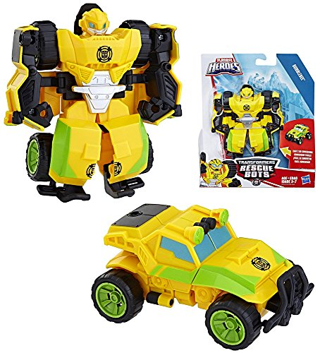 Bumblebee Robot to Buggy Rescue Heroes Transformer 4.5