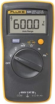 Fluke 101 Basic Digital Multimeter Pocket Portable Meter