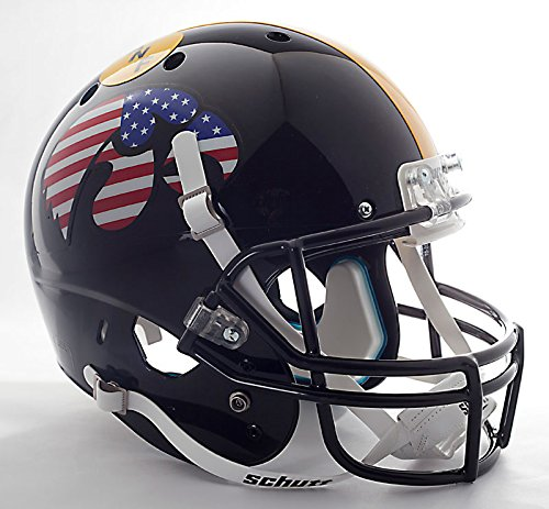 IOWA HAWKEYES Football Helmet STICKERS (FLAG LOGO)
