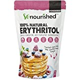 Powdered Erythritol Sweetener (454 Grams / 16 OZ) - Confectioners - No Calorie Sweetener, Non-GMO, Natural Sugar Substitute (1 Pound)