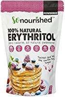 Powdered Erythritol Sweetener (1 lb / 16 oz) - Confectioners - No Calorie Sweetener, Non-GMO, Natural Sugar Substitute