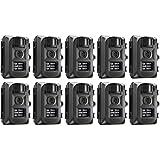 Primos Easy Cam IR LED 5MP Game or Trail Camera Black, 63051 (10-Pack)