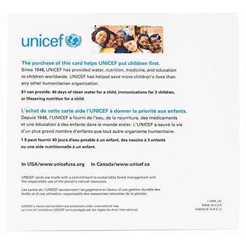 Hallmark UNICEF Christmas Boxed Cards (Peace On Earth Dove Lettering, 12 Christmas Greeting Cards and 13 Envelopes) Photo #9