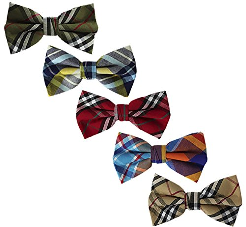 Ravenhill Premium Adjustable Bowties 5 pack product image