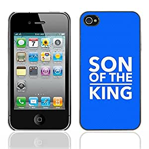 Paccase / Dura PC Caso Funda Carcasa de Protección para - BIBLE Son Of The King - Apple Iphone 4 / 4S