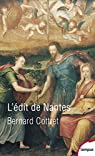 L'édit de Nantes par Cottret