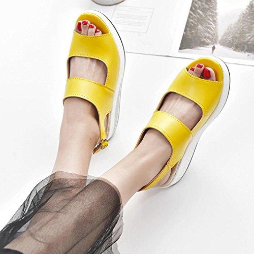Mujer PAOLIAN 2018 para Vestir S Verano Sandalias de xZwIZpAnfa